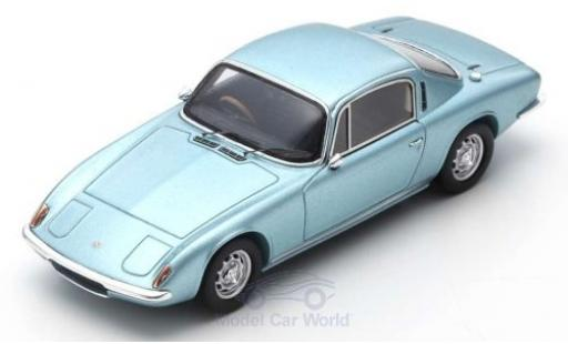 Lotus Elan 1/43 Spark +2 metallise bleue RHD 1967 miniature