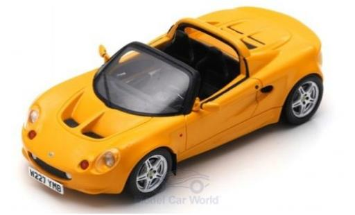Lotus Elise 1/43 Spark S1 yellow 1996 diecast model cars