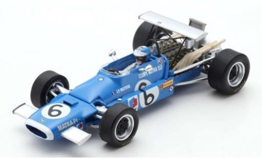 Matra MS1 1/43 Spark 1 No.6 Equipe Elf Formel 1 GP Italien 1968 J-P.Beltoise diecast model cars