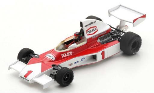 McLaren M23 1/43 Spark No.1 Marlboro Team Formel 1 GP Großbritannien 1975 E.Fittipaldi miniature