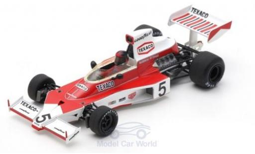 McLaren M23 1/43 Spark No.5 Texaco Formel 1 GP Monaco 1974 E.Fittipaldi diecast model cars