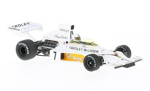 McLaren M23 1/43 Spark No.7 Yardley Formel 1 GP Schweden 1973 D.Hulme miniature