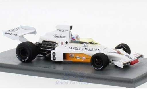 McLaren M23 1/43 Spark No.8 GP England 1973 P.Revson