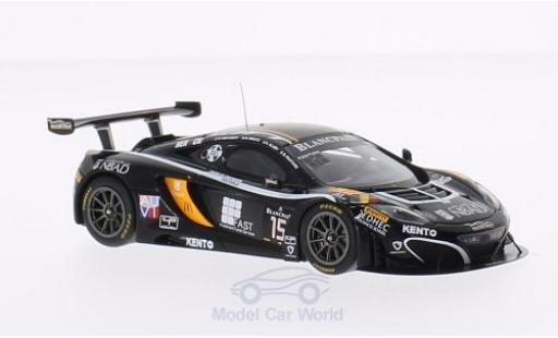 McLaren MP4-12C 1/43 Spark No.15 Boutsen Ginion 24h Spa 2014 K.A.Ojjeh/O.Grougez/F.Vervisch/G.Pantano miniature