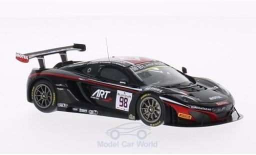 McLaren MP4-12C 1/43 Spark No.98 ART Grand Prix 24h Spa 2014 G.Demoustier/C.Lapierre/A.Parente miniature