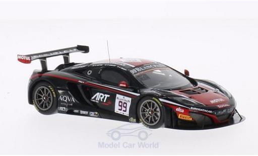 McLaren MP4-12C 1/43 Spark No.99 ART Grand Prix 24h Spa 2014 K.Korjus/A.Soucek/K.Estre diecast model cars