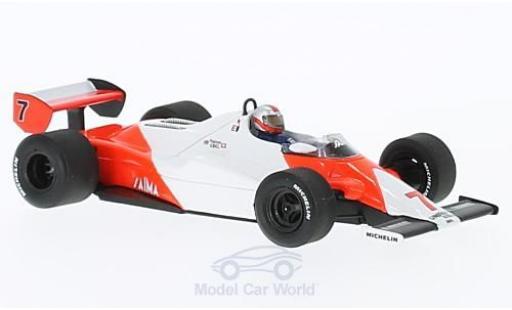 McLaren MP4-12C 1/43 Spark MP4-1C No.7 Formel 1 GP Long Beach 1983 J.Watson diecast model cars