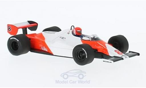 McLaren MP4-12C 1/43 Spark MP4/1C No.8 Formel 1 GP Long Beach 1983 N.Lauda miniature