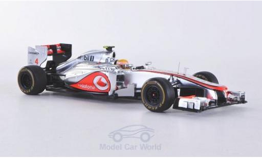 McLaren MP4-12C 1/43 Spark MP4-27 No.4 Vodafone GP Monaco 2012 mit Decals L.Hamilton diecast model cars