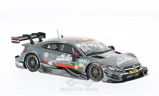 Mercedes Classe C DTM 1/43 Spark AMG C63 DTM No.84 -AMG DTM Team HWA DTM 2016 M.Götz miniature