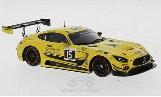 Mercedes AMG GT 1/43 Spark 3 No.15 Black Falcon 24h Spa 2017 D.Chaponik/B.Sandberg/S.Heckert/J.Bleekemolen diecast model cars