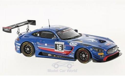Mercedes AMG GT 1/43 Spark 3 No.16 Black Falcon 24h Spa 2017 O.Morley/M.Toril/M.Kirchhöfer/M.Götz diecast model cars