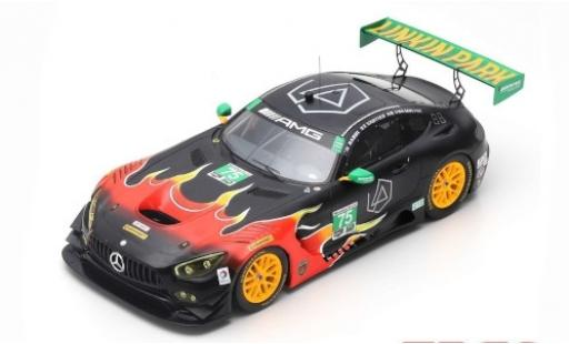 Mercedes AMG GT 1/64 Spark 3 No.75 SunEnergy1 Racing Petit Le Mans 2017 T.Vautier/K.Habul/D. Von Moltke diecast model cars