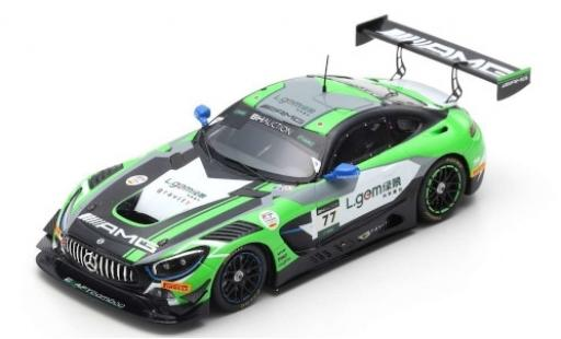 Mercedes AMG GT 1/43 Spark 3 No.77 -AMG Team CraftBamboo Racing 10H Suzuka 2019 M.Götz/L.Stolz/Y.Buurman diecast model cars