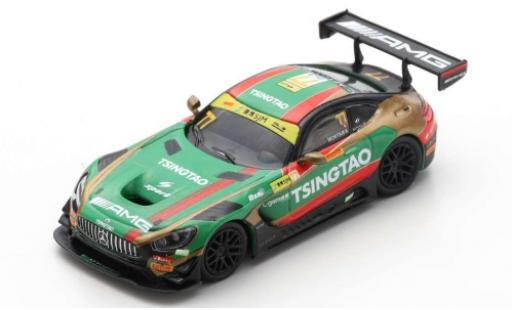 Mercedes AMG GT 1/64 Spark 3 No.77 -AMG Team CraftBamboo Racing Fia GT World Cup Macau 2019 E.Mortara diecast model cars