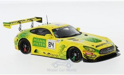 Mercedes AMG GT 1/43 Spark 3 No.84 -AMG Team Mann-Filter 24h Spa 2018 R.van der Zande/E.Mortara/G.Paffett diecast model cars