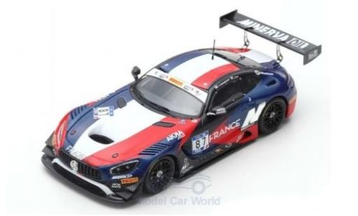 Mercedes AMG GT 1/43 Spark 3 No.87 AKKA-ASP Team FIA GT Nations Cup Bahrain 2018 Team France J-L.Beaubelique/J.Pla miniatura