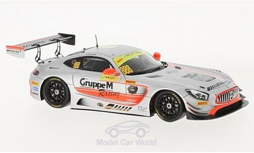 Mercedes AMG GT 1/43 Spark 3 No.888 -AMG Team GruppeM Racing Fia GT World Cup Macau 2017 R.Marciello miniature