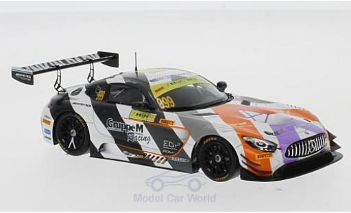 Mercedes AMG GT 1/43 Spark 3 No.999 -AMG Team GruppeM Racing Fia GT World Cup Macau 2017 M.Engel diecast model cars