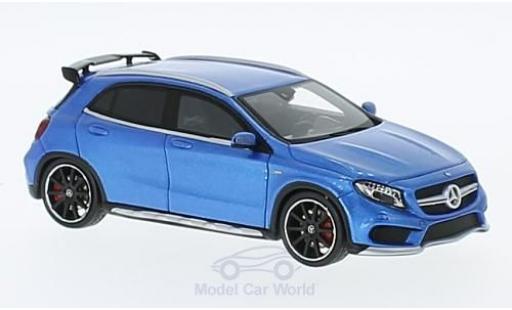 Mercedes Classe GLA 1/43 Spark GLA 45 AMG métallisé bleue 2015 miniature