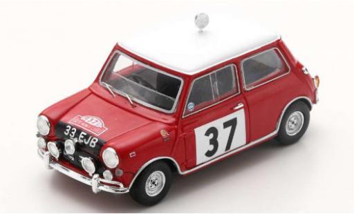Mini Cooper 1/43 Spark S RHD No.37 Rally Monte Carlo 1964 P.Hopkirk/H.Liddon miniature