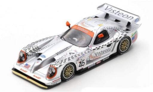 Panoz Esperante 1/43 Spark GTR-1 No.45 Mptorsports Inc. Visteon 24h Le Mans 1998 D.Brabham/A.Wallace/J.Davies diecast model cars