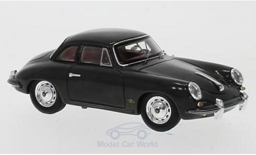 Porsche 356 A 1/43 Spark B t% Karmann Hardtop Coupe grey 1961 diecast model cars