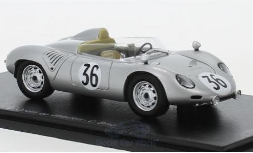 Porsche 718 1/43 Spark RSK No.36 24h Le Mans 1959 C.Godin de Beaufort/C.Heins miniature