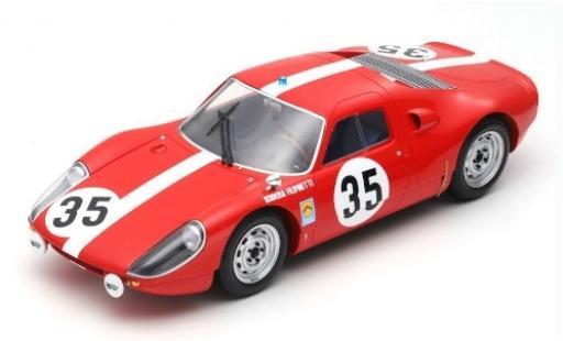 Porsche 904 1964 1/12 Spark GTS No.35 Scuderia Filipinetti 24h Le Mans H.Müller/C.Sage miniature