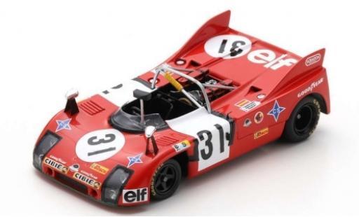 Porsche 908 1974 1/43 Spark /03 RHD No.31 Ecurie Tibidabo elf (F) 24h Le Mans F.Torredemer/J.Fernandez/B.Tramont