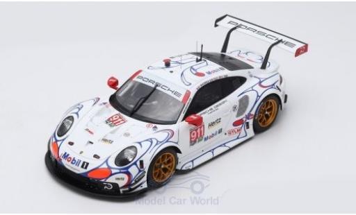 Porsche 991 RSR 1/18 Spark 911 (.2) No.911 GT Team Petit Le Mans 2018 P.Pilet/N.Tandy/F.Makowiecki miniature
