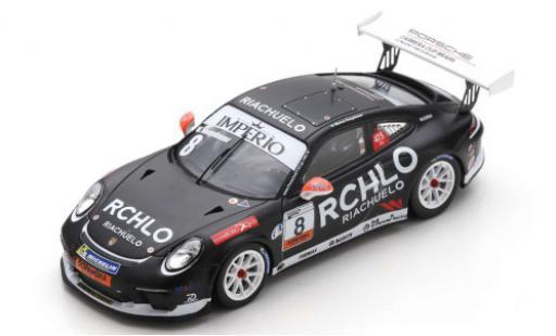 Porsche 991 GT3 Cup 1/43 Spark 911  No.8 Carrera Cup Brasilien 2018 W.Neugebauer diecast model cars