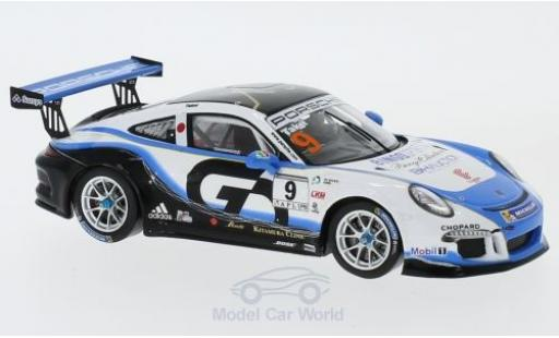 Porsche 991 SC 1/43 Spark (991) GT3 Cup No.9 Carrera Cup Japan 2017 S.Takei miniature
