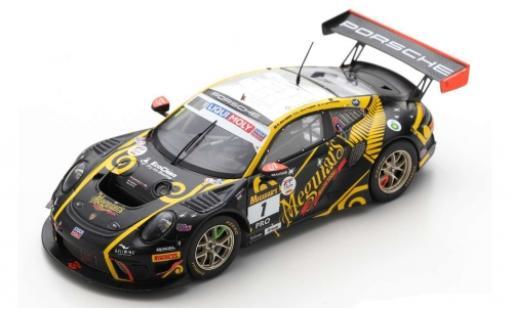 Porsche 992 GT3 R 1/43 Spark 911 (991) No.1 EBM Meguiars 12h Bathurst 2020 E.Bamber/L.Vanthoor/C.Lowndes miniature