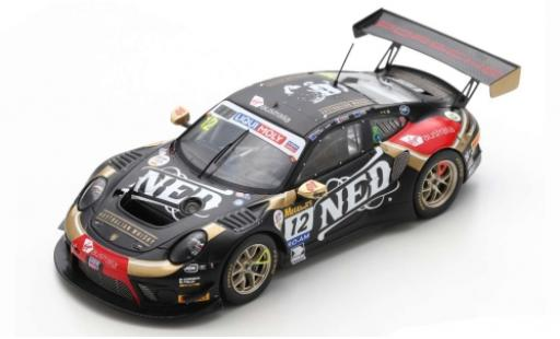 Porsche 992 GT3 R 1/43 Spark 911 (991) No.12 NED Racing Team 12h Bathurst 2020 D.Calvert-Jones/R.Dumas/J.Evans diecast model cars