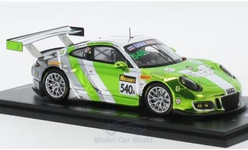 Porsche 991 SC 1/43 Spark (991) GT3 R No.540 Black Swan Racing 12h Bathurst 2018 T.Pappas/J.Bleekemolen/L.Stolz/M.Lieb diecast