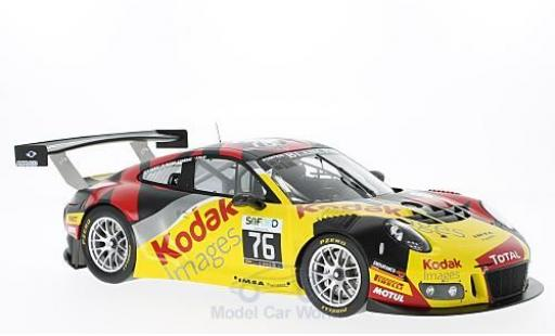 Porsche 991 SC 1/18 Spark (991) GT3 R No.76 IMSA Performance Kodak 24h Spa 2016 P.Pilet/M.Jousse/R.Narac/T.Cornac diecast