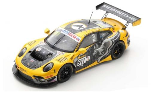 Porsche 992 GT3 R 1/43 Spark 911 (991) No.911 Absolute Racing 12h Bathurst 2020 M.Jaminet/P.Pilet/M.Campbell diecast model cars