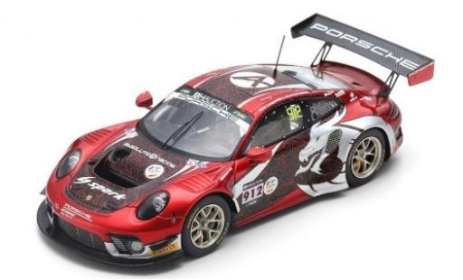 Porsche 992 GT3 R 1/43 Spark 911 (991) No.912 Absolute Racing 10H Suzuka 2019 D.Olsen/M.Campbell/D.Werner diecast model cars
