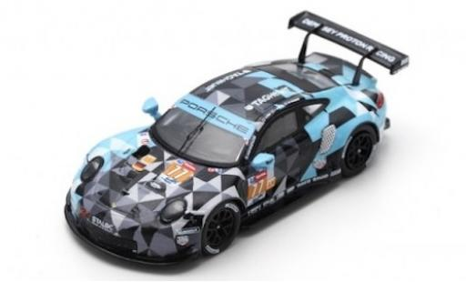 Porsche 991 RSR 1/87 Spark 911  No.77 Dempsey-Predon Racing 24h Le Mans 2018 M.Campbell/C.Ried/J.Andlauer diecast model cars