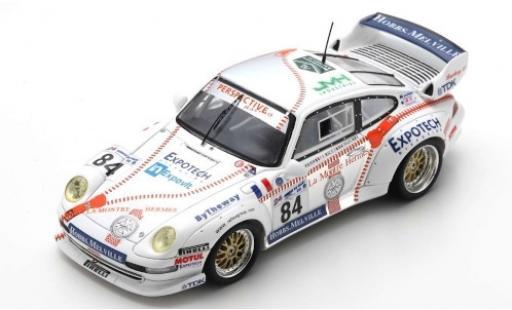 Porsche 911 1/43 Spark (993) Carrera RSR No.84 24h Le Mans 1999 T.Perrier/J-L.Ricci/M.Nourry miniature