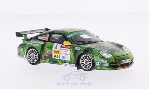 Porsche 997 GT3 RS 1/43 Spark 911 (996) No.6 CaneO Rallye Lyon-Charbonnieres 2007 F.Delecour/M.Ronfort miniature