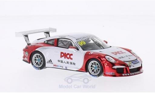 Porsche 991 GT3 Cup 1/43 Spark 911 (997) No.99 PCCA 2014 A.Imperatori A.Imperatori diecast model cars