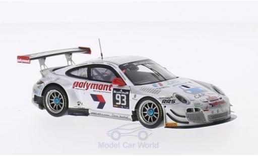 Porsche 997 SC 1/43 Spark (997) GT3 R No.93 Pro GT by Almeras 24h Spa 2014 L.Lasserre/E.Dermont/F.Perera/M.Bonanomi miniature