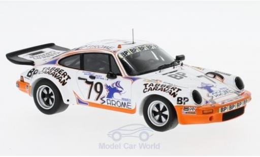 Porsche 930 RS 1/43 Spark 911 Carrera No.79 24h Le Mans 1977 J.-L.Ravenel/J.Ravenel/J-M.Detrin miniature