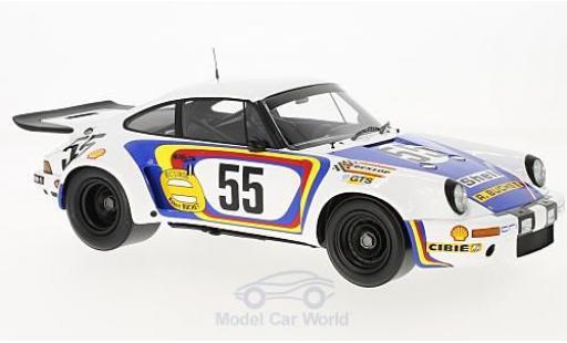 Porsche 930 RSR 1/18 Spark 911 Carrera No.55 24h Le Mans 1975 C.Ballot-Lena/J.Bienvenue miniature