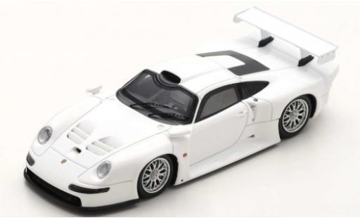 Porsche 993 1/43 Spark 911 GT1 white 1996 Street Version