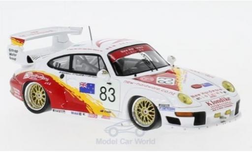 Porsche 993 SC 1/43 Spark GT2 No.83 24h Le Mans 1996 S.Ortelli/A.Pilgrim/A.Bagnall diecast