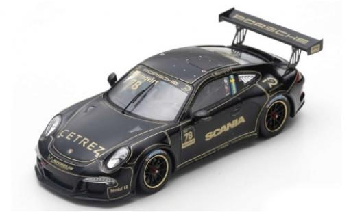 Porsche 991 GT3 Cup 1/43 Spark 911 ( II) No.78 Carrera Cup Scandinavia Anderstorp 2018 Tribute to Ronnie Peterson S.Blomqvist miniature