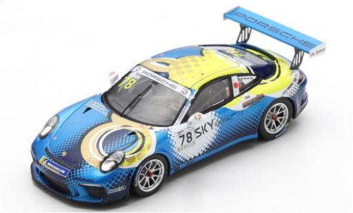 Porsche 991 GT3 Cup 1/43 Spark 911  No.78 Carrera Cup Japan 2018 T.Kondo miniature